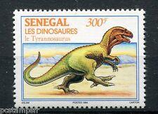SENEGAL, 1994, timbre 1116, DINOSAURES, TYRANNOSAURUS, neuf**