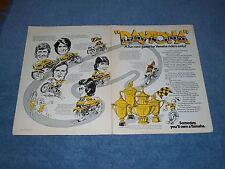 "1974 Vintage Yamaha Daytona Wins Ad ""A Fun New Game for Yamaha Riders Only!"""