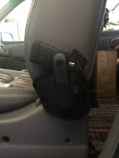 Vehicle Carry Truck Car Seat Handgun Conceal Pistol Holster Ambidextrous Small