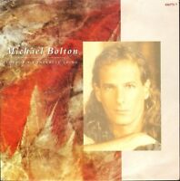 "MICHAEL BOLTON love is a wonderful thing/soul provider 656771 7 1991 7"" PS EX/EX"