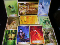 NEW! WISDOM OF THE GOLDEN PATH CARD & BOOK ORACLE FOR GUIDANCE OPEN FOR PICS