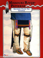 Missouri River American Indian Southern Plains Tab Leggings Sewing Pattern