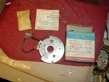 NOS 1957-9 DUAL POINT DIST BREAKER PLATE BUICK CHEVY V8