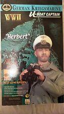 "DRAGON WWII 1/6 SCALE ""HERBERT"" U BOAT CAPTAIN GERMAN FIGURE 12""  KRIEGSMARINE"