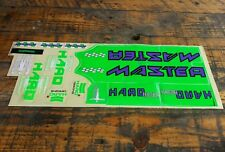 Old school bmx haro master decal