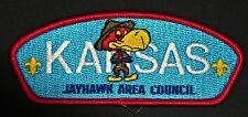 JAYHAWK AREA COUNCIL KS OA 197 DZIE-HAUK TONGA 429 FLAP PATCH RARE VARIETY CSP