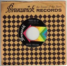 WILSON, Jackie  (Baby Get It <And Don't Quit It>)  Brunswick 55250 = VINTAGE 45
