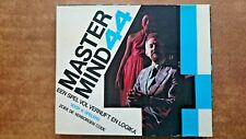 Vintage Mastermind 44 Game by Invicta 1977 Netherlands Edition Contents Sealed