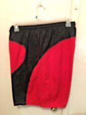 UnderArmour loose Fit Heat Gear Red Basketball Shorts Mens Sz Xl