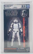 "Star Wars Black Series 6"" Orange Line ""Stormtrooper"" #09 AFA U8.5 (Archival)"
