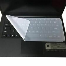 Silicone Clear Protector Dust Cover Skin for Keyboard Laptop Computer PC Desktop