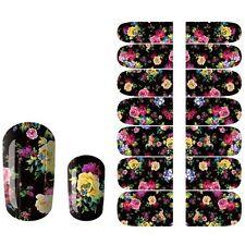 Wonderful 14Pcs Acrylic Nail Art Patch Polish Tips Decals Sticker JQ020