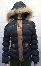Women Ladies New Short Winter Thick Warm Padded FurHood Puff Parka/Coat/Jacket