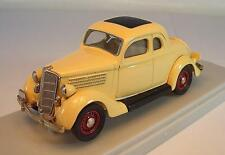 RexToys 1/43 Ford 1935 Coupe 5 Windows 2 Doors beige OVP #1550