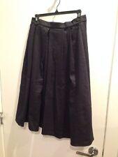 Custom Made Circle Skirt Navy Sz 8 New!!
