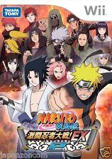 Used Wii Naruto Shippuuden EX 2 Nintendo JAPAN  JAPANESE JAPONAIS IMPORT