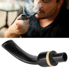 Cigarette Mouthpieces Stem for Tobacco Smoking Pipe Accessory Black