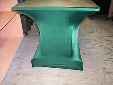 GREEN Spandex 6' Banquet Table Leg Wraps Covers Skirts