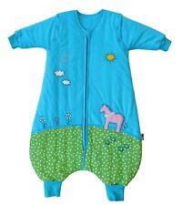 Slumbersac Baby Sleeping Bag with Feet and long sleeves Pony 2.5 Tog, All Year