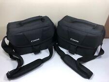 Lot of 2 Canon 100ES DSLR Camera Shoulder Bags