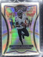 2019 Select Lamar Jackson Premier Field Level Silver Prizm Baltimore Ravens SP