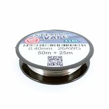 316L Stainless Steel Wire (26AWG) 0.40mm x 50m Reel + 25m Extra Free
