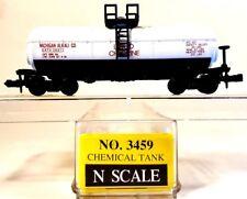 N Model Power 3459 40ft Single Dome Tanker Michigan Alkali Co GATX #39617