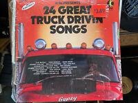 Various – 24 Great Truck Drivin' Songs - WU 3320 - K-Tel  - Vinyl LP