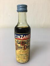 Mignon Miniature Cinzano Liquore Elixir China 3,8cl 30,5% Vol Vintage