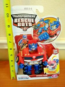 Transformers Rescue Bots Optimus Prime by Playschool Heroes Hasbro 2010