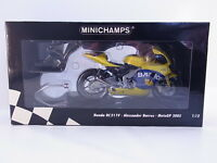 Lot 37101 Minichamps Honda RC211V Barros Motogp 2005 Moto 1:12 Neuf Emballage