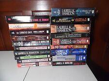 Laurell K. Hamilton Lot 18 PB Books Anita Blake Vampire Series Meredith Gentry