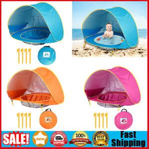Infant Baby Zelt Außenzelt Strandmuschel trandzelt Wetter Sichtschutz Zelt DE
