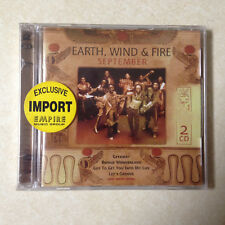 EARTH WIND AND FIRE - SEPTEMBER - BRAND NEW CD