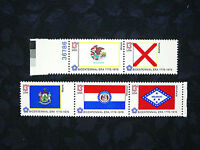 United States, 1976 Bicentennial State Flags, Scott 1653-57, 5 Stamps, MNH