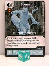 Dice Masters - #072 Iceman Mister Friese - The Uncanny X-Men