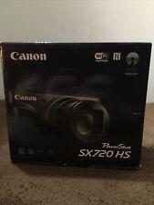 Canon PowerShot SX720 HS 20.3MP Digital Camera - Black