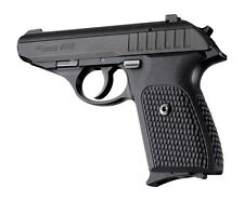 Hogue Sig P230/P232 Grips Pirahna G-10 Solid Black   (30139)