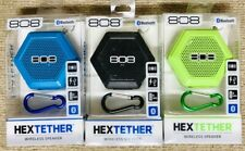 HEXTETHER  808 Audio - Wireless Bluetooth Portable Keychain Speaker - 3 Colors!
