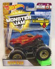 2018 Hot Wheels Monster Jam 1:64 Iron Man Re-crushable Car