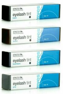 Strictly Professional Intensive Eyelash & Eyebrow Dye Tint Lash * UK SELLER *
