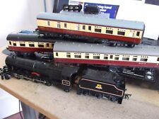 TRIANG PRINCESS LOCOMOTIVE WITH TENDER PLUS 3 COACHES