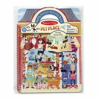 Melissa and Doug 19429 - Puffy Stickers Activity Book - Pets - NEW!!