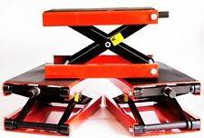 Epc Wide 1000 Lb Motorcycle Scissor Center Jack Cycle Lift Harley Metric