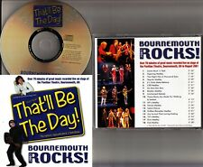 THAT'LL BE THE DAY Live Cast Recording Bournemouth Rocks 2001 Musical CD 60s 70s