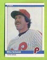 1984 Fleer - Mike Schmidt (#48)  Philadelphia Phillies