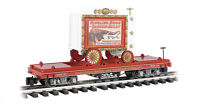 Bachmann #92713-G-RINGLING BROTHERS-Flatcar-w-Performing-Elephants-Wagon NEW