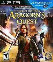 Lord of the Rings: Aragorn's Quest (Sony PlayStation 3, 2010) COMPLETE WB PS3