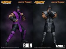 IN STOCK! NYCC 2018 Storm Collectibles Mortal Kombat RAIN + SMOKE 1:12 Figures