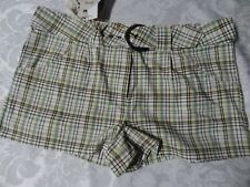 PAG New Womens plaid shorts, size 13, FREE SHIPPING
